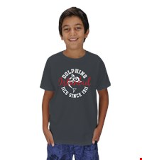 Dolphin Spirit- Crew Neck- Childrens Çocuk Unisex Show your Dolphin pride with our first official design in the Dolphin Spirit Shop 