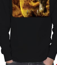 The Fountain ERKEK SWEATSHIRT Death Is The Road To Awe 1409131928161092282231802854-