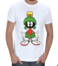 Marslı Marvin Erkek Tişört Marvin the Martian / Marslı Marvin : 1605130933469514107339802-