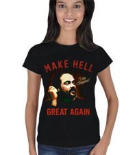 Make Hell Great Again Kadın Tişört Mark Sheppardın yeni tişörtü Make Hell Great Again Supernatural Markette 160811120458212252832363479-