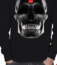 •HA81• Black Skull ERKEK SWEATSHIRT •HA81• Black Skull 16121310370331223431089930-