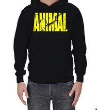 ANIMAL Erkek Kapşonlu bodybuıldıng,fitness,gym,suplement,vucutgelistirme,body,fit, 1709122227543754121878266-