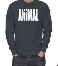 ANIMAL ERKEK SWEATSHIRT bodybuıldıng,fitness,gym,suplement,vucutgelistirme,body,fit, 1709252200473754121872375-