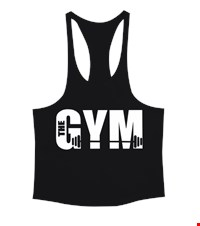 THE GYM Erkek Tank Top Atlet bodybuıldıng,fitness,gym,suplement,vucutgelistirme,body,fit, 1709292337553754121876396-