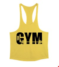 THE GYM Erkek Tank Top Atlet bodybuıldıng,fitness,gym,suplement,vucutgelistirme,body,fit, 1709292341563754121871672-
