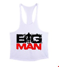 BIG MAN Erkek Tank Top Atlet bodybuilding,fitness,gym,vucut gelistirme,supplement,trainer,body,bilek guresi,armwrestlink,spor,antrenman,protein, 1711222051033754121876426-