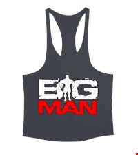 BIG MAN Erkek Tank Top Atlet bodybuilding,fitness,gym,vucut gelistirme,supplement,trainer,body,bilek guresi,armwrestlink,spor,antrenman,protein, 1711222052443754121877715-
