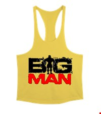 BIG MAN Erkek Tank Top Atlet bodybuilding,fitness,gym,vucut gelistirme,supplement,trainer,body,bilek guresi,armwrestlink,spor,antrenman,protein, 1711222058173754121878960-