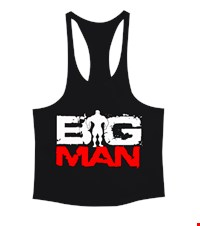 BIG MAN Erkek Tank Top Atlet bodybuilding,fitness,gym,vucut gelistirme,supplement,trainer,body,bilek guresi,armwrestlink,spor,antrenman,protein, 1711222308343754121874910-