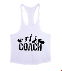 COACH Erkek Tank Top Atlet bodybuilding,fitness,gym,vucut gelistirme,supplement,trainer,body,bilek guresi,armwrestlink,spor,antrenman,protein, 17122114333237551452018497-