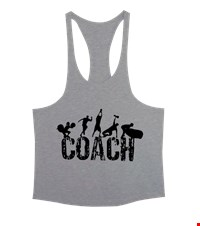 COACH Erkek Tank Top Atlet bodybuilding,fitness,gym,vucut gelistirme,supplement,trainer,body,bilek guresi,armwrestlink,spor,antrenman,protein, 17122114345437551452011660-