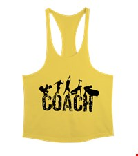COACH Erkek Tank Top Atlet bodybuilding,fitness,gym,vucut gelistirme,supplement,trainer,body,bilek guresi,armwrestlink,spor,antrenman,protein, 17122114361337551452017791-