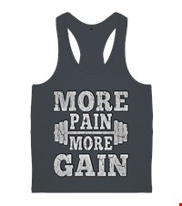 MORE PAIN MORE GAIN Erkek Body Gym Atlet bodybuilding,fitness,gym,vucut gelistirme,supplement,trainer,body,bilek guresi,armwrestlink,spor,antrenman,protein, 17122115380837551452019505-