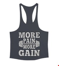 MORE PAIN MORE GAIN Erkek Tank Top Atlet bodybuilding,fitness,gym,vucut gelistirme,supplement,trainer,body,bilek guresi,armwrestlink,spor,antrenman,protein, 17122116162337551452012291-