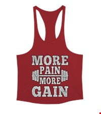 MORE PAIN MORE GAIN Erkek Tank Top Atlet bodybuilding,fitness,gym,vucut gelistirme,supplement,trainer,body,bilek guresi,armwrestlink,spor,antrenman,protein, 17122116204137551452016890-