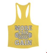 MORE PAIN MORE GAIN Erkek Tank Top Atlet bodybuilding,fitness,gym,vucut gelistirme,supplement,trainer,body,bilek guresi,armwrestlink,spor,antrenman,protein, 17122116222937551452019709-