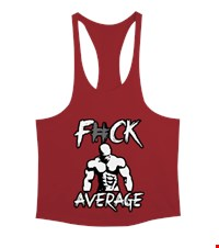 AVERAGE Erkek Tank Top Atlet bodybuilding,fitness,gym,vucut gelistirme,supplement,trainer,body,bilek guresi,armwrestlink,spor,antrenman,protein, 17122119592337551452013838-
