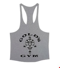 GOLDS GYM  Erkek Tank Top Atlet bodybuilding,fitness,gym,vucut gelistirme,supplement,trainer,body,bilek guresi,armwrestlink,spor,antrenman,protein, 18010318104637551452016260-
