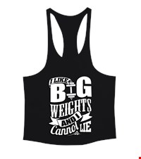 I LIKE BIG WEIGHTS AND I CANNOT LIE Erkek Tank Top Atlet bodybuilding,fitness,gym,vucut gelistirme,supplement,trainer,body,bilek guresi,armwrestlink,spor,antrenman,protein, 18010400512437551452017407-
