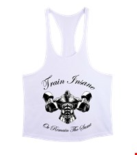 TRAIN INSANE Erkek Tank Top Atlet bodybuilding,fitness,gym,vucut gelistirme,supplement,trainer,body,bilek guresi,armwrestlink,spor,antrenman,protein, 18011719214537551452011361-