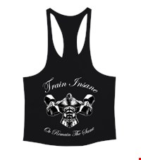 TRAIN INSANE Erkek Tank Top Atlet bodybuilding,fitness,gym,vucut gelistirme,supplement,trainer,body,bilek guresi,armwrestlink,spor,antrenman,protein, 18011719332937551452017700-