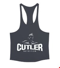 CUTLER Erkek Tank Top Atlet bodybuilding,fitness,gym,vucut gelistirme,supplement,trainer,body,bilek guresi,armwrestlink,spor,antrenman,protein, 18012217595037551452013354-