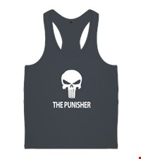 PUNISHER Erkek Body Gym Atlet bodybuilding,fitness,gym,vucut gelistirme,supplement,trainer,body,bilek guresi,armwrestlink,spor,antrenman,protein, 18012613582137551452014752-