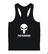PUNISHER Erkek Body Gym Atlet bodybuilding,fitness,gym,vucut gelistirme,supplement,trainer,body,bilek guresi,armwrestlink,spor,antrenman,protein, 18012614005937551452016827-