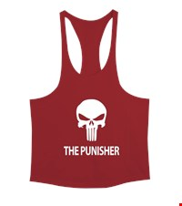 PUNISHER Erkek Tank Top Atlet bodybuilding,fitness,gym,vucut gelistirme,supplement,trainer,body,bilek guresi,armwrestlink,spor,antrenman,protein, 18012614484137551452017642-