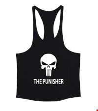 PUNISHER Erkek Tank Top Atlet bodybuilding,fitness,gym,vucut gelistirme,supplement,trainer,body,bilek guresi,armwrestlink,spor,antrenman,protein, 18012614495537551452018632-