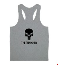 PUNISHER Erkek Body Gym Atlet bodybuilding,fitness,gym,vucut gelistirme,supplement,trainer,body,bilek guresi,armwrestlink,spor,antrenman,protein, 18012618361937551452018467-