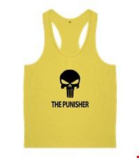 PUNISHER Erkek Body Gym Atlet bodybuilding,fitness,gym,vucut gelistirme,supplement,trainer,body,bilek guresi,armwrestlink,spor,antrenman,protein, 18012618373137551452016930-