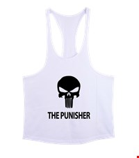 PUNISHER Erkek Tank Top Atlet bodybuilding,fitness,gym,vucut gelistirme,supplement,trainer,body,bilek guresi,armwrestlink,spor,antrenman,protein, 18012618453937551452017619-