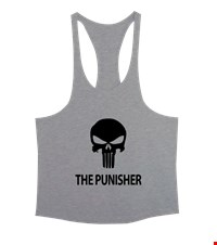 PUNISHER Erkek Tank Top Atlet bodybuilding,fitness,gym,vucut gelistirme,supplement,trainer,body,bilek guresi,armwrestlink,spor,antrenman,protein, 18012618465537551452016572-