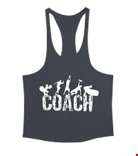 COACH Erkek Tank Top Atlet bodybuilding,fitness,gym,vucut gelistirme,supplement,trainer,body,bilek guresi,armwrestlink,spor,antrenman,protein, 18012620503237551452018873-