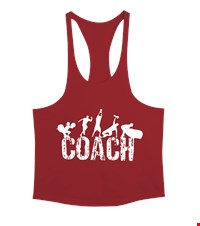 COACH Erkek Tank Top Atlet bodybuilding,fitness,gym,vucut gelistirme,supplement,trainer,body,bilek guresi,armwrestlink,spor,antrenman,protein, 18012620524737551452016165-