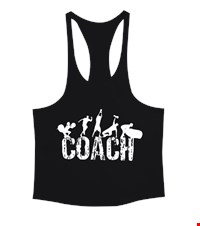 COACH Erkek Tank Top Atlet bodybuilding,fitness,gym,vucut gelistirme,supplement,trainer,body,bilek guresi,armwrestlink,spor,antrenman,protein, 18012620544037551452013685-