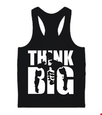 THINK BIG Erkek Body Gym Atlet bodybuilding,fitness,gym,vucut gelistirme,supplement,trainer,body,bilek guresi,armwrestlink,spor,antrenman,protein, 18012623581937551452014399-
