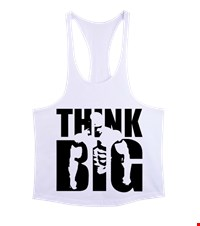 THINK BIG Erkek Tank Top Atlet bodybuilding,fitness,gym,vucut gelistirme,supplement,trainer,body,bilek guresi,armwrestlink,spor,antrenman,protein, 18012700372737551452012456-