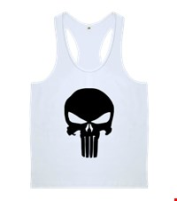 PUNISHER Erkek Body Gym Atlet bodybuilding,fitness,gym,vucut gelistirme,supplement,trainer,body,bilek guresi,armwrestlink,spor,antrenman,protein, 18012712353437551452012059-