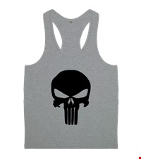 PUNISHER Erkek Body Gym Atlet bodybuilding,fitness,gym,vucut gelistirme,supplement,trainer,body,bilek guresi,armwrestlink,spor,antrenman,protein, 18012713250437551452016115-