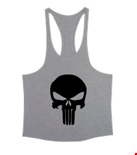 PUNISHER Erkek Tank Top Atlet bodybuilding,fitness,gym,vucut gelistirme,supplement,trainer,body,bilek guresi,armwrestlink,spor,antrenman,protein, 18012812585637551452015685-