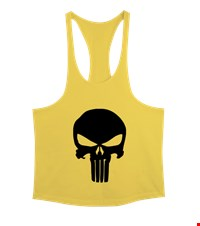 PUNISHER Erkek Tank Top Atlet bodybuilding,fitness,gym,vucut gelistirme,supplement,trainer,body,bilek guresi,armwrestlink,spor,antrenman,protein, 18012813025537551452016991-