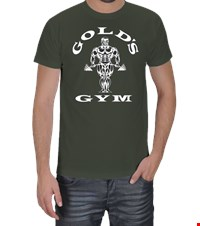 GOLDS GYM  Erkek Tişört bodybuilding,fitness,gym,vucut gelistirme,supplement,trainer,body,bilek guresi,armwrestlink,spor,antrenman,protein, 18013120163737551452012143-