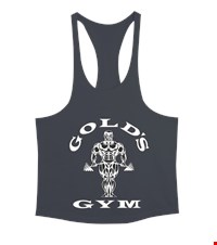 GOLDS GYM  Erkek Tank Top Atlet bodybuilding,fitness,gym,vucut gelistirme,supplement,trainer,body,bilek guresi,armwrestlink,spor,antrenman,protein, 18013121073237551452018128-