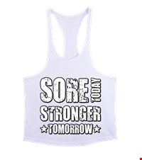 STRONGER Erkek Tank Top Atlet bodybuilding,fitness,gym,vucut gelistirme,supplement,trainer,body,bilek guresi,armwrestlink,spor,antrenman,protein, 18021015320437551452015637-