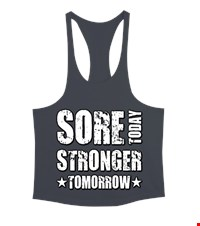 STRONGER Erkek Tank Top Atlet bodybuilding,fitness,gym,vucut gelistirme,supplement,trainer,body,bilek guresi,armwrestlink,spor,antrenman,protein, 18021015355537551452011479-