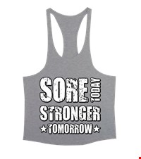 STRONGER Erkek Tank Top Atlet bodybuilding,fitness,gym,vucut gelistirme,supplement,trainer,body,bilek guresi,armwrestlink,spor,antrenman,protein, 18021015374137551452011043-