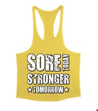 STRONGER Erkek Tank Top Atlet bodybuilding,fitness,gym,vucut gelistirme,supplement,trainer,body,bilek guresi,armwrestlink,spor,antrenman,protein, 18021015415537551452017708-