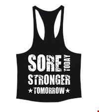 STRONGER Erkek Tank Top Atlet bodybuilding,fitness,gym,vucut gelistirme,supplement,trainer,body,bilek guresi,armwrestlink,spor,antrenman,protein, 18021015443637551452016575-